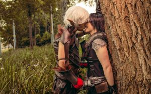 Thinking of little else - Dragon Age 2 Cosplay by Soylent-cosplay