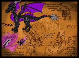 FD : Young Feuriah Reff Sheet by WeirdHyena