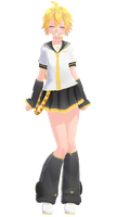 Tda Lenka Kagamine Default Sailor [DL] [Update] by xXMofuMofuXx