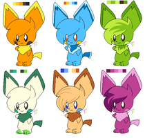 Pichu Adoptables by Pokedopts
