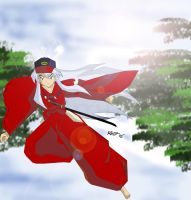 Requested:Inuyasha and his Cap by Umitama