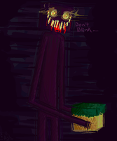 Minecraft:Just... Don't Blink: by Le-Juge