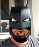 Dawn of Justice - Armored Batman Helmet - 1st Cast by ArmorCorpCustoms
