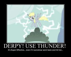 Derpy Hooves Motivational by CrossoverPrincess