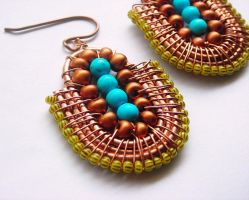 zaraa earrings by pikabee