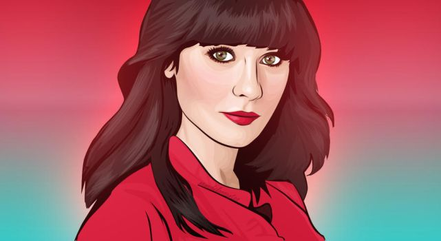 ZOOEY DESCHANEL by nenenene