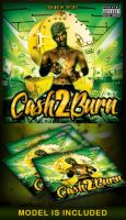 Cash 2 Burn Mixtape Cover by MadFatSkillz