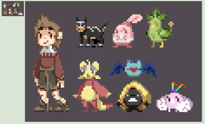 PKMNation Pixel Party by alsoword