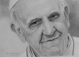 Pope Francis by jjkiefer