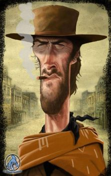 ClintEastwood by Raymo4life