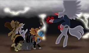 My little Metalocalypse by cloudyrei