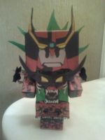 Tengen Toppa Gurren Lagann Cubee Finished by rubenimus21