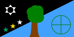Earth's Flag by BudCharles