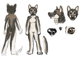 Fursuit Reference by Tebyx