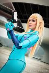 Samus at Galactic Federation HQ - Metroid Cos 2 by Yukilefay