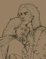 The royal Assassin and his Beloved (WIP) by LucioCrescent