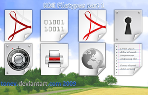 KDE filetypes 1 by tonev