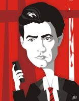 Kyle MacLachlan by nicoletaionescu