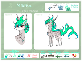 Mikina The Finnedyr by Kinexuru