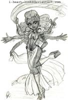 Monster High: Arachne Girl by I-heart-Link