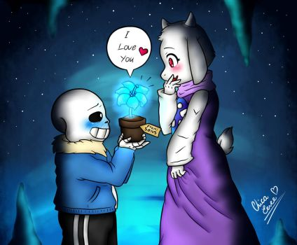 More Soriel (Sans X Toriel) Echo Message by Kris120