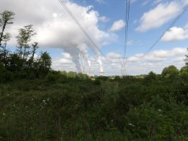 TNT Area - Power Lines and Power Plant 2 by Sneas