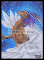 ACEO Starfall by Windspirit-Aquaeris