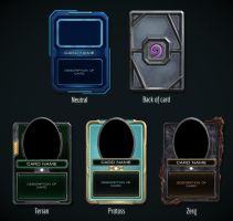 Hearthstone + Starcraft Card Concepts by hammn