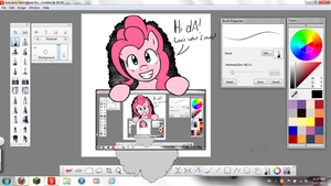 Look What Pinkie Made! (REMAKE) by FullMetalPikmin