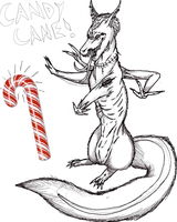 Candy Cane by Shi-Kage