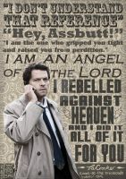 Castiel Typography by The-Lady-Maverick