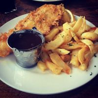 Fish and Chips by DistortedSmile