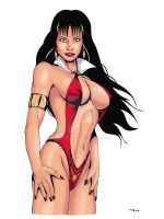 Vampirella 2 Color by ESO2001