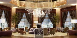Lounge Sales Office by RosellieDesigner