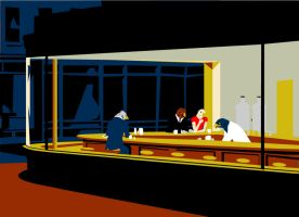 nighthawks by biotwist