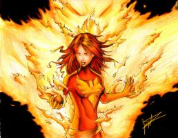 Dark Phoenix - XMen by DaosX