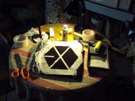 Making of my EXO shirt -1- by ailaahdo