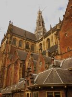 St Bavo church , big Marquet Harlem by marob0501