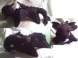 Toothless plush for sale by CaptHansIsMyMaster