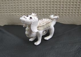 Falcor 'The Never Ending Story' Polymer Clay by RaLaJessR