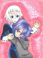 Soul Eater OC: KoreanaXCrona Happy Valentines Day! by Yuna516