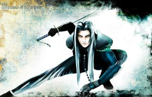 SEPHIROTH - Dreams of Despair by sunnyday81