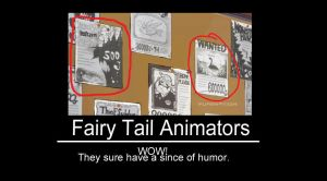 Fairy Tail Animators-Motivational Poster by XxHeavensXAnglexX