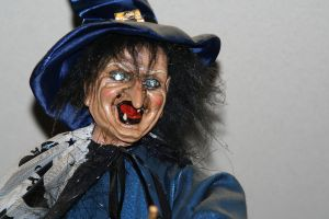 witch puppet by priesteres-stock