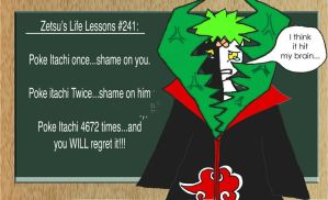 Life lessons with Zetsu by Zepka