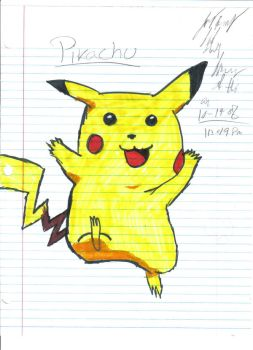 Pikachu by Ring-Master4Z0