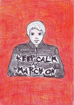 Keep Calm and March On by OneMillionVoices