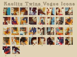 Kaulitz Twins Vogue Icons by InterRose