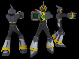 Megaman X6 Shadow Armor by Chief-01