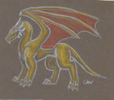 Dragon doodle by Leithster